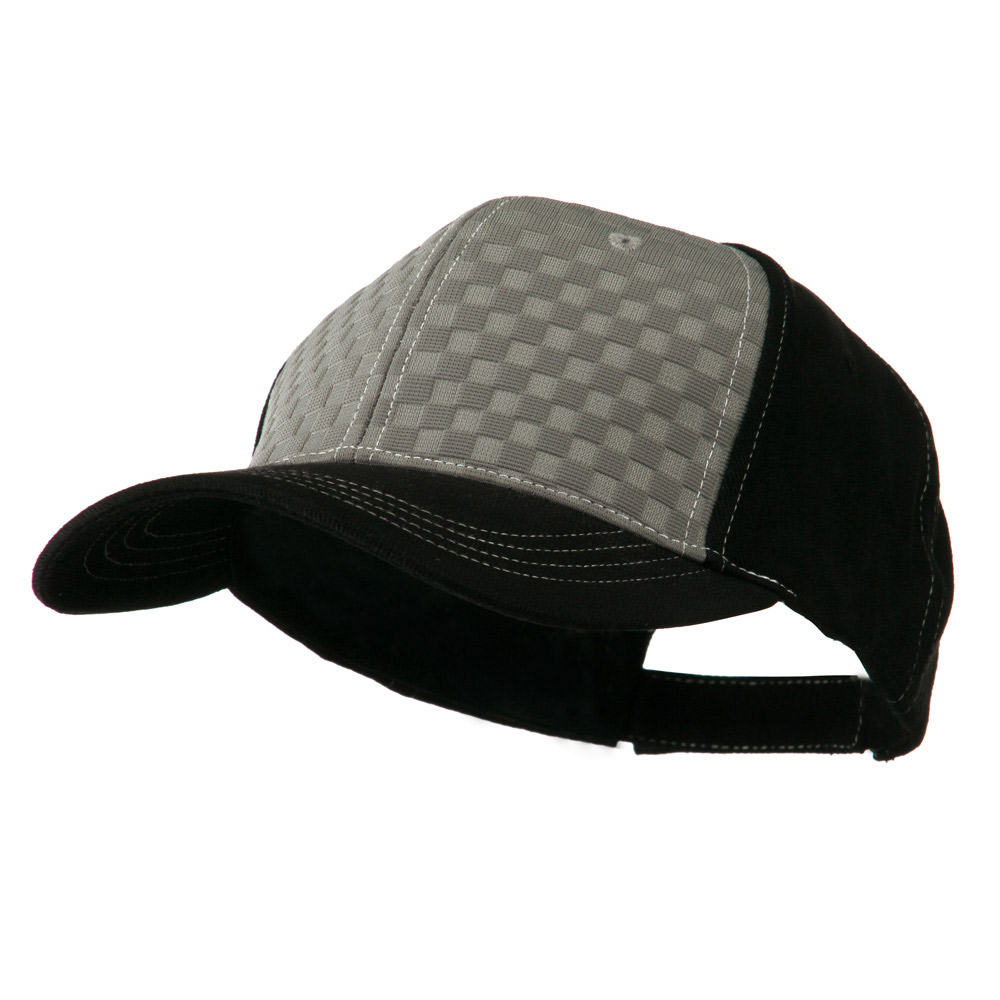 Hipster Two Tone Ball Cap - Grey Black - Hats and Caps Online Shop - Hip Head Gear