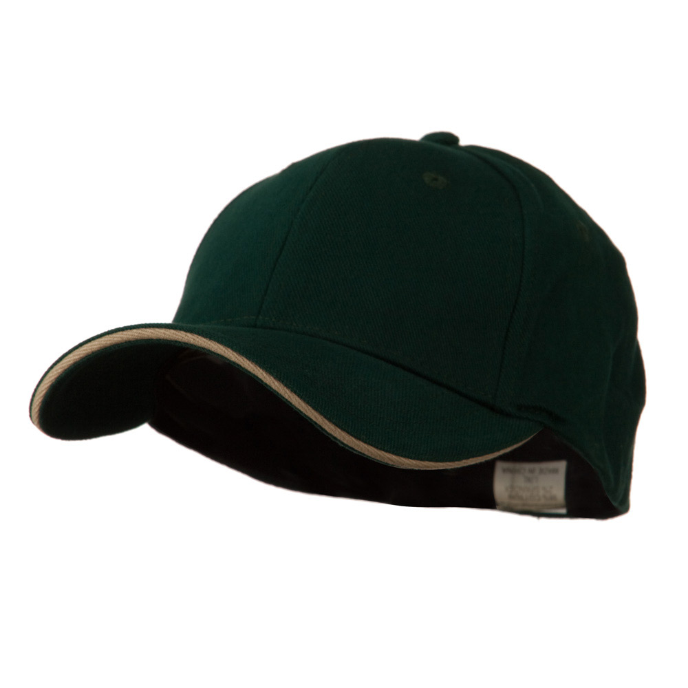 Heavy Weight Fitted Cap - Forest Khaki - Hats and Caps Online Shop - Hip Head Gear