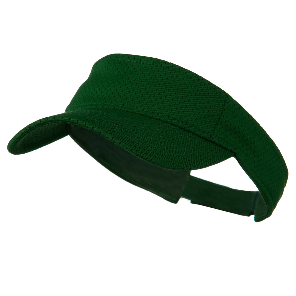 Athletic Jersey Mesh Sportsvisor - Dark Green - Hats and Caps Online Shop - Hip Head Gear