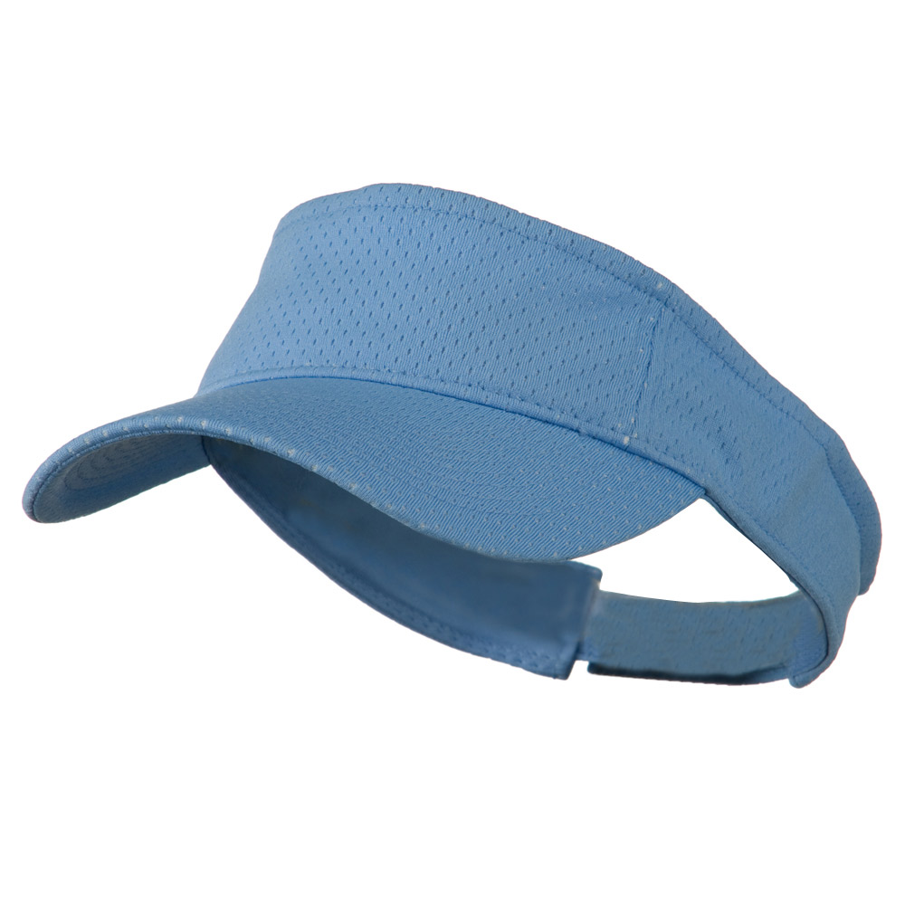 Athletic Jersey Mesh Sportsvisor - Light Blue - Hats and Caps Online Shop - Hip Head Gear