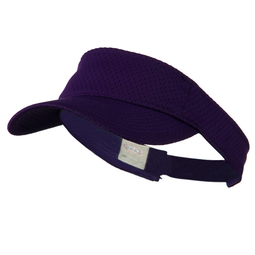 Athletic Jersey Mesh Sportsvisor - Purple - Hats and Caps Online Shop - Hip Head Gear