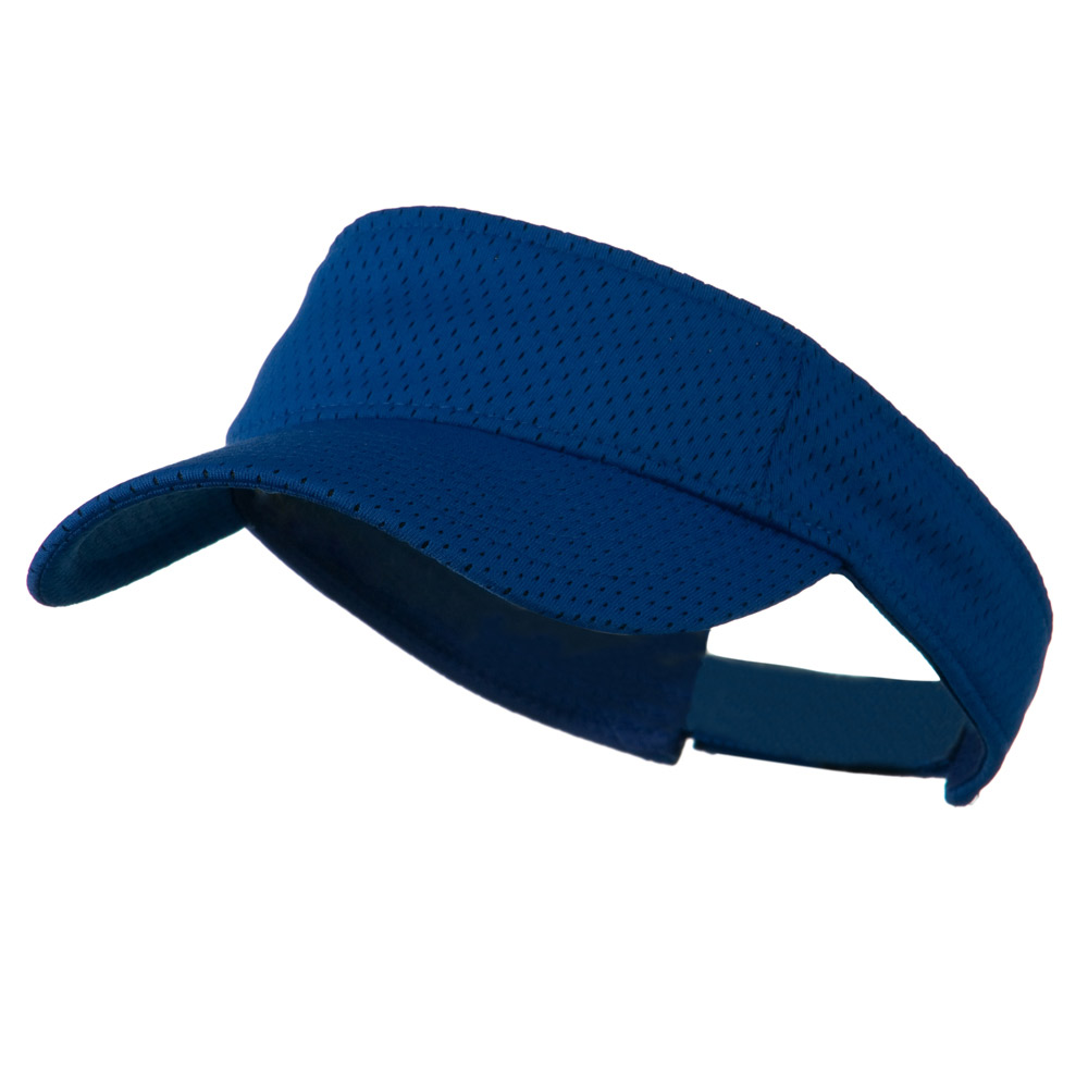 Athletic Jersey Mesh Sportsvisor - Royal - Hats and Caps Online Shop - Hip Head Gear