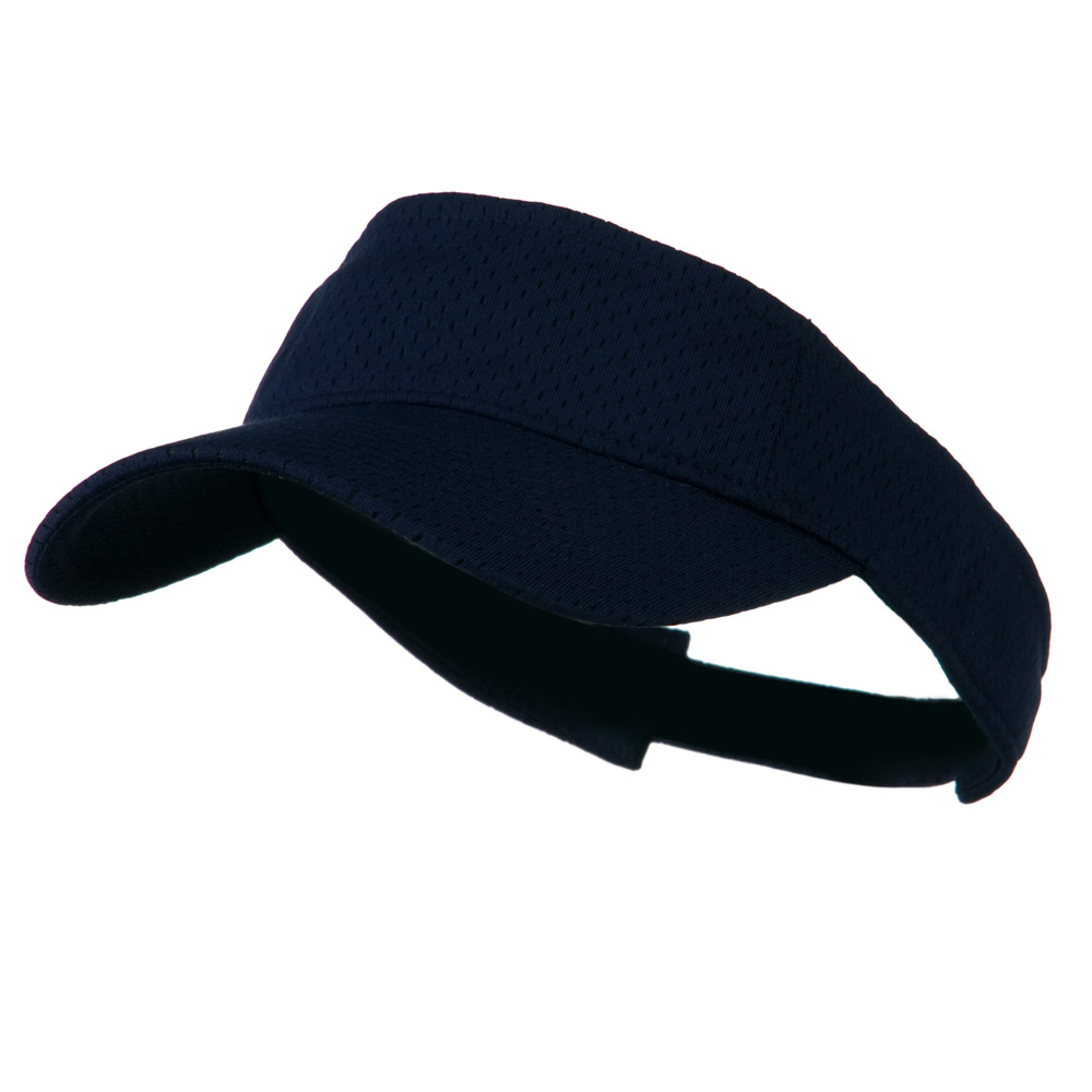 Athletic Jersey Mesh Sportsvisor - Navy - Hats and Caps Online Shop - Hip Head Gear