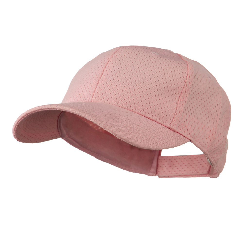 Athletic Jersey Mesh Cap - Pink - Hats and Caps Online Shop - Hip Head Gear