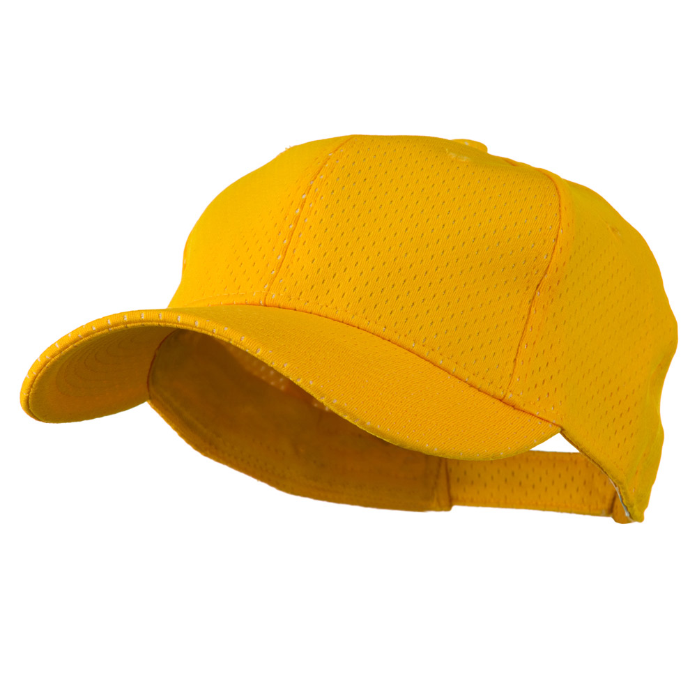 Athletic Jersey Mesh Cap - Gold - Hats and Caps Online Shop - Hip Head Gear