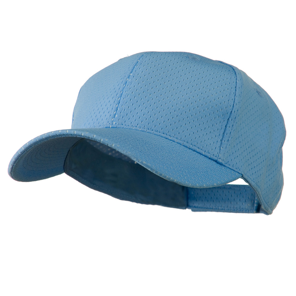 Athletic Jersey Mesh Cap - Light Blue
