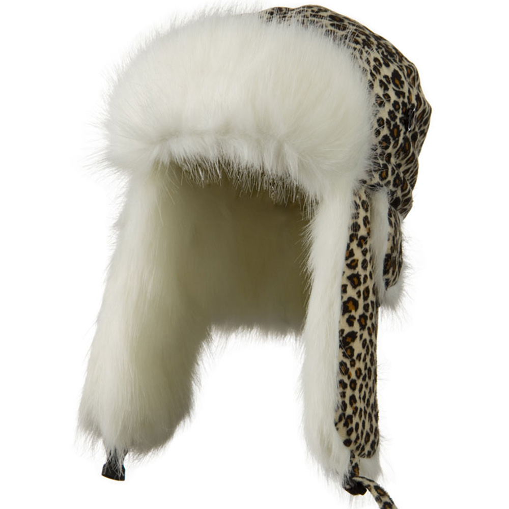 Kids Leopard Trapper Hat - Leopard - Hats and Caps Online Shop - Hip Head Gear