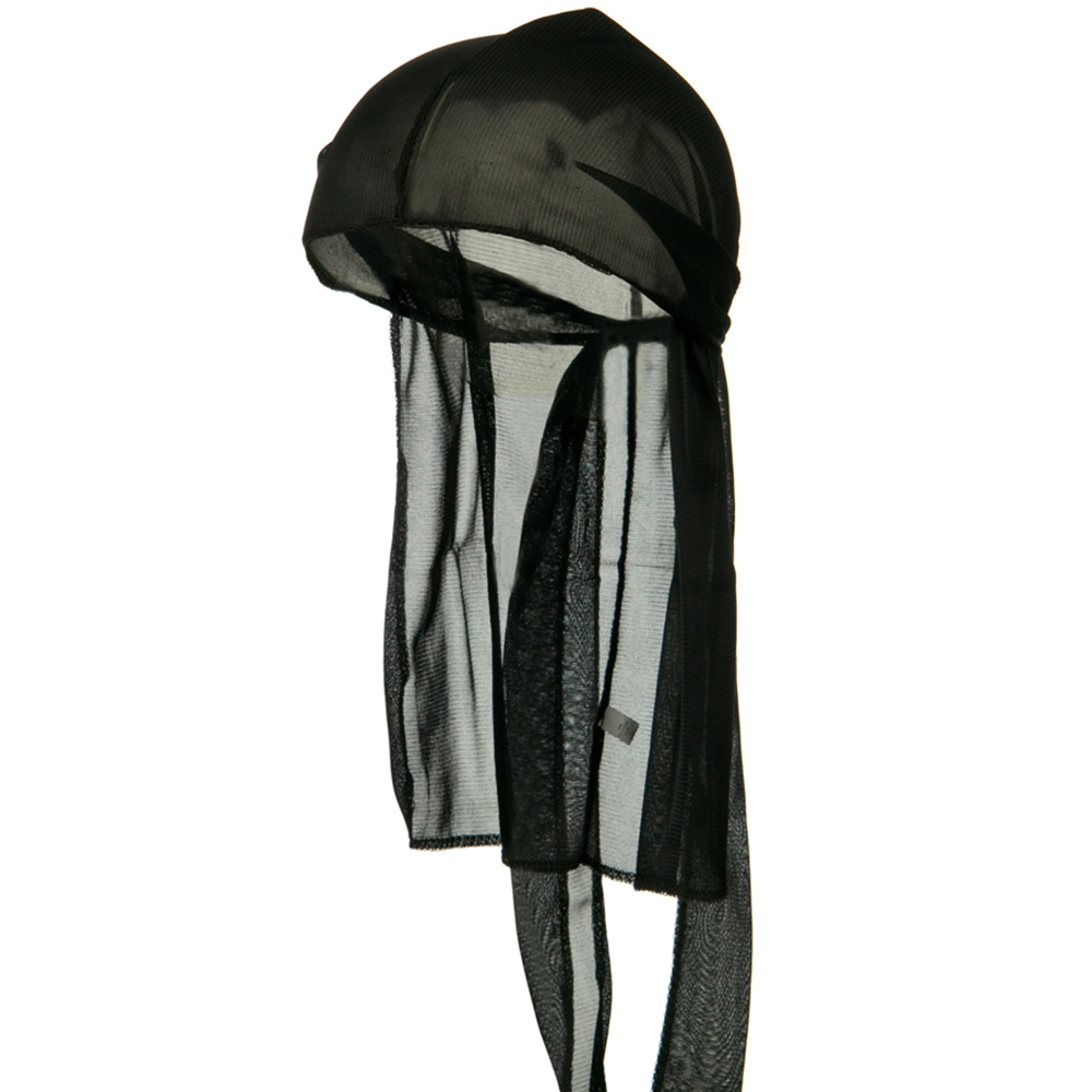 Kid's Satin Durag - Black - Hats and Caps Online Shop - Hip Head Gear