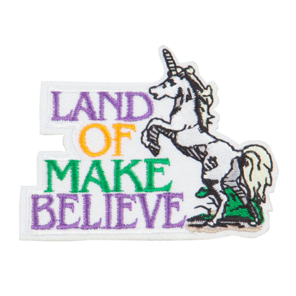 Land of Make Believe Patch - White