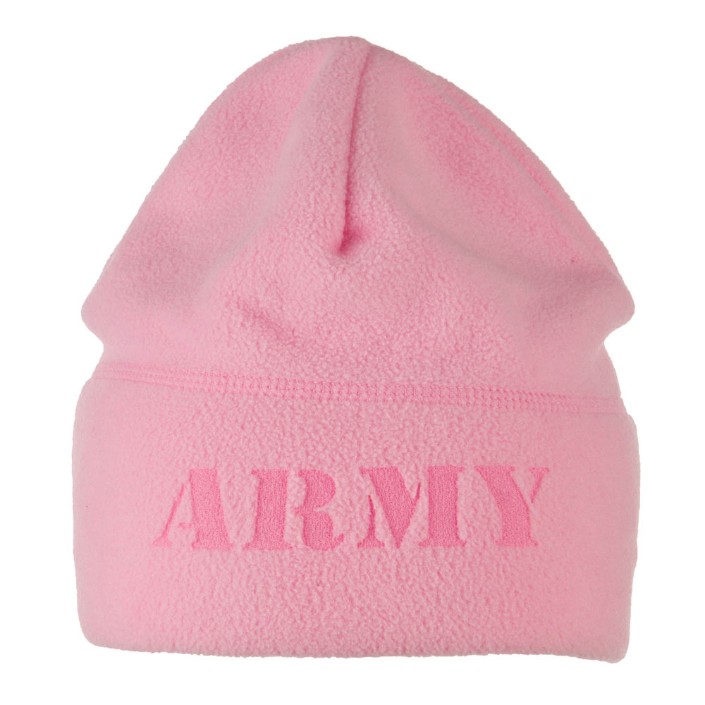 Laser Fleece US Military Short Beanie - Army Pink - Hats and Caps Online Shop - Hip Head Gear