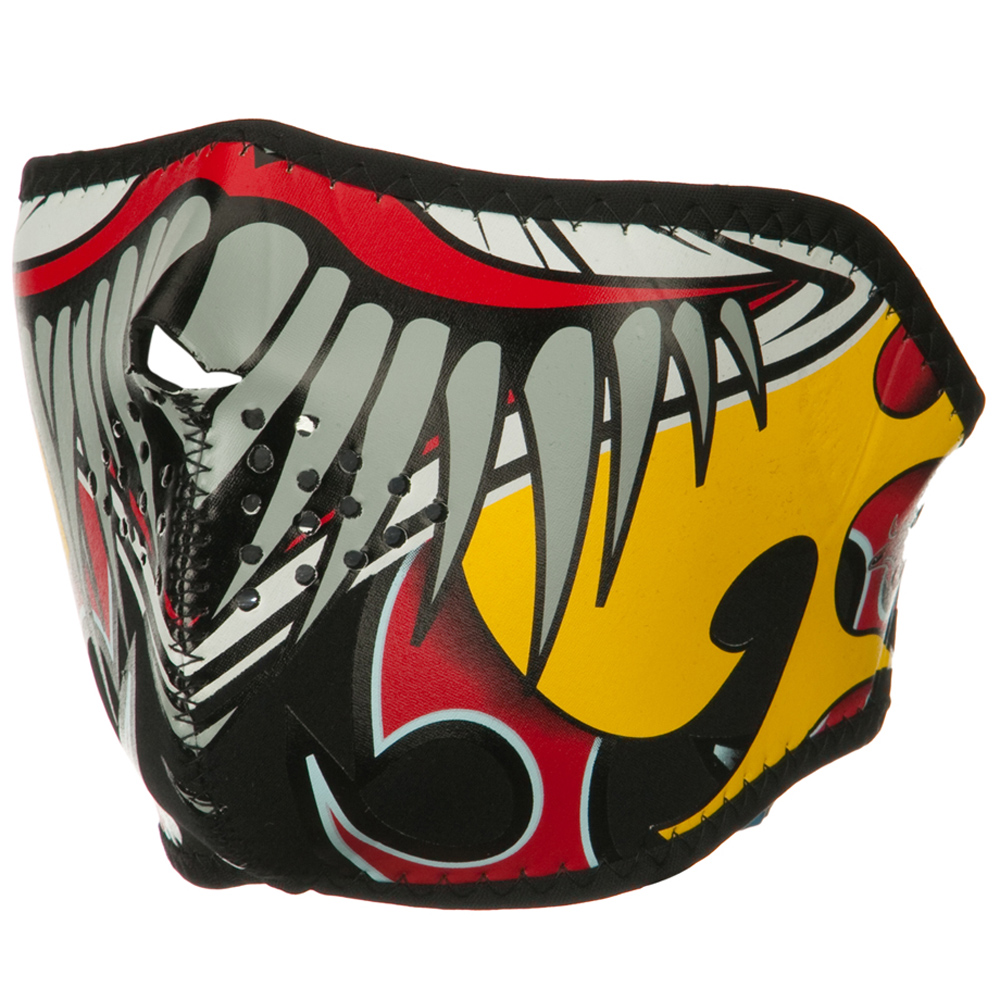 Lethal Threat Half Face Mask - Clown