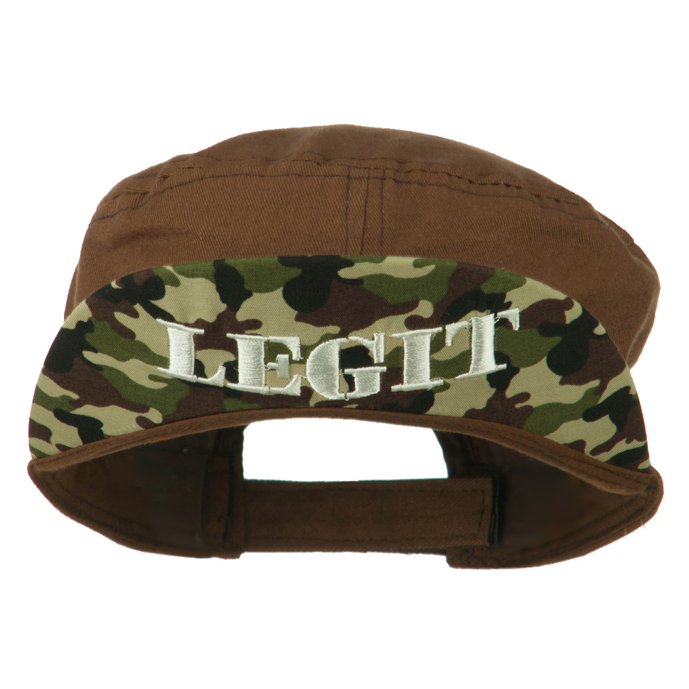 Legit Jeep Style Adjustable Cadet - Brown - Hats and Caps Online Shop - Hip Head Gear
