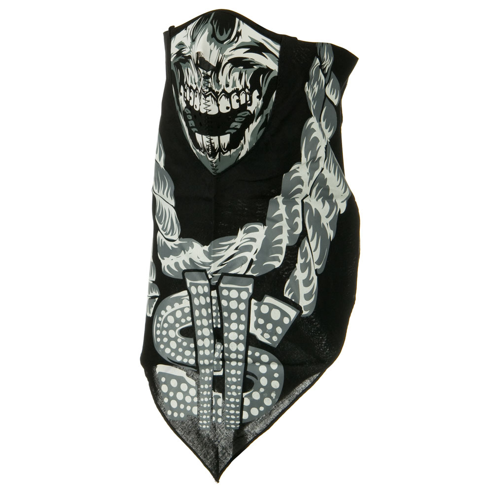 Lethal Threat Neodanna Mask - Bling Skull - Hats and Caps Online Shop - Hip Head Gear