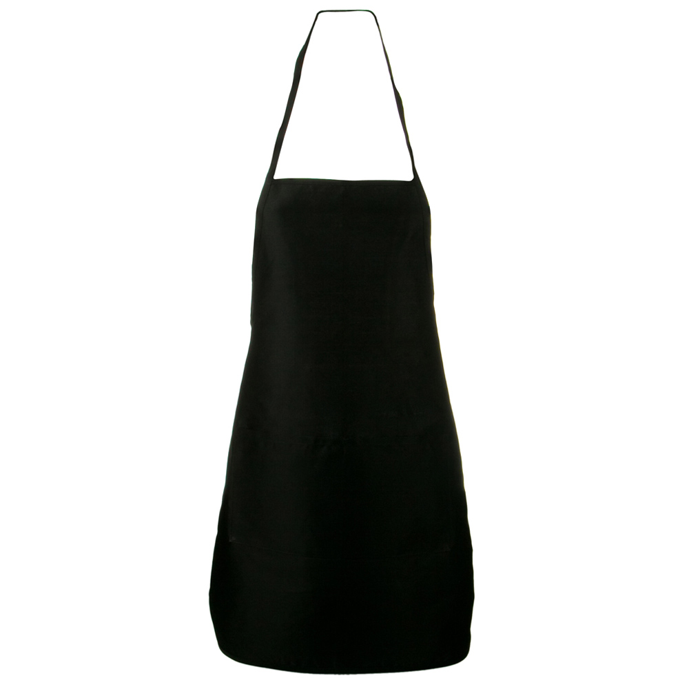 Large 2 Pocket Apron - Black