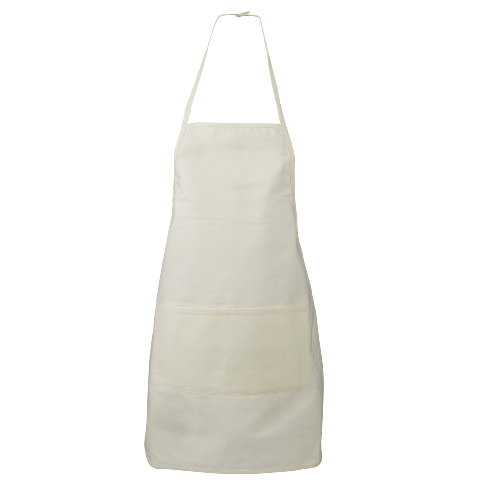 Large 2 Pocket Apron - Natural