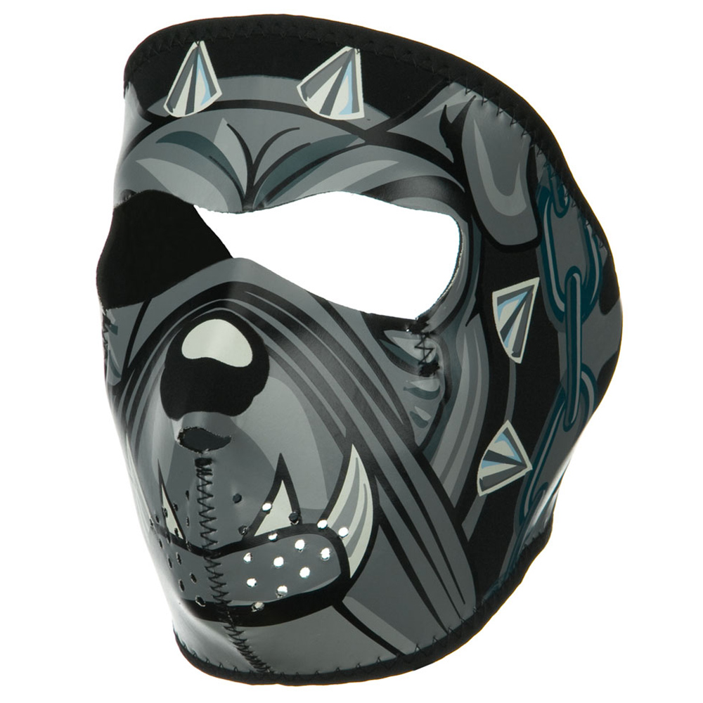 Lethal Threat Face Mask - Bulldog - Hats and Caps Online Shop - Hip Head Gear