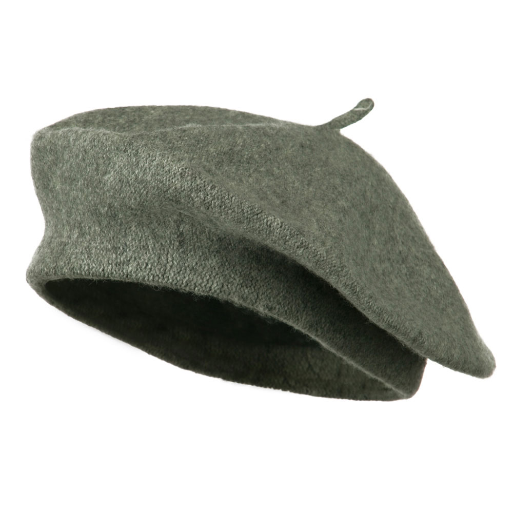 Ladies Wool Beret - Grey - Hats and Caps Online Shop - Hip Head Gear