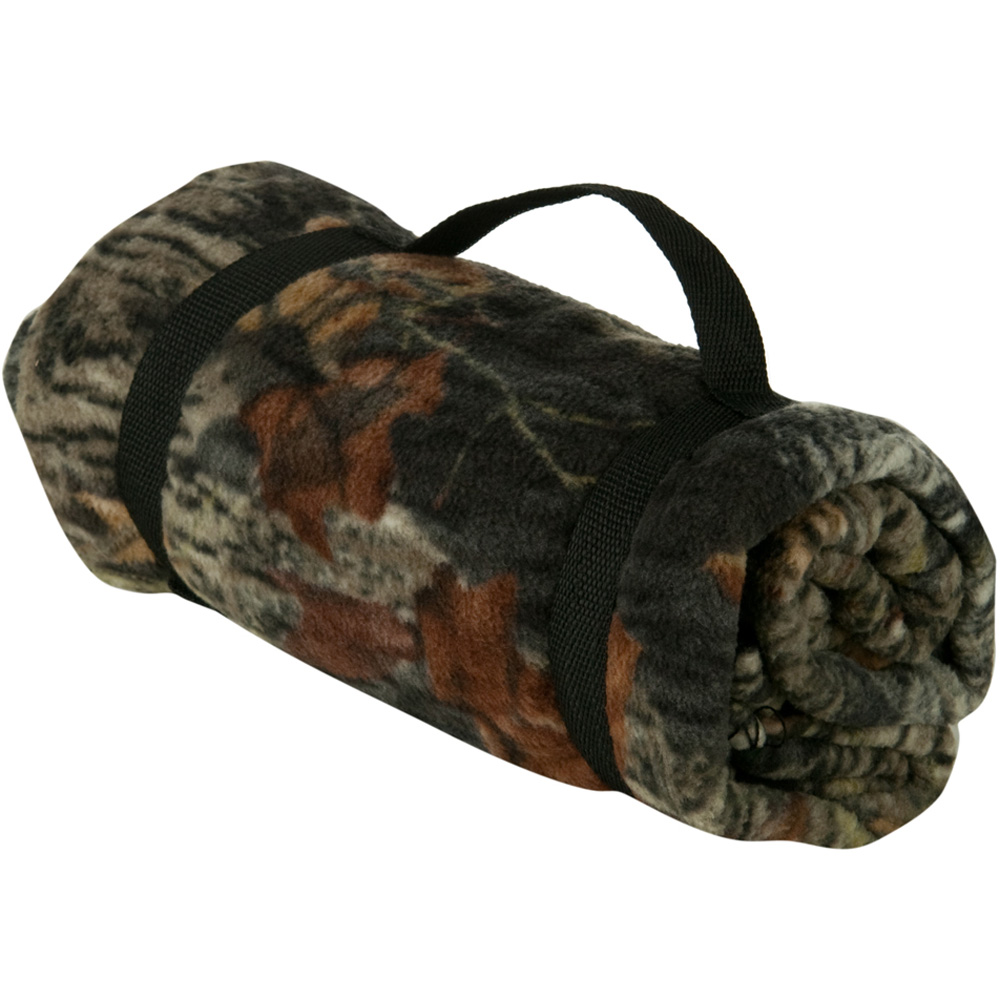 Mossy Oak Fleece Blanket - Break Up