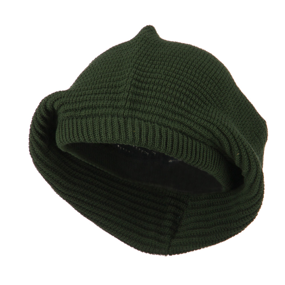 Medium Crown New rasta Beanie Hat - Olive - Hats and Caps Online Shop - Hip Head Gear