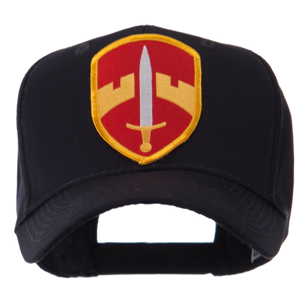 Marine Embroidered Military Patch Cap - MAC 4