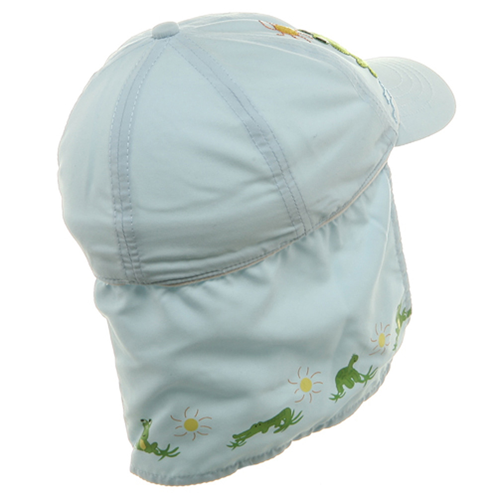 Children Micro Fiber Flap Cap - Blue - Hats and Caps Online Shop - Hip Head Gear