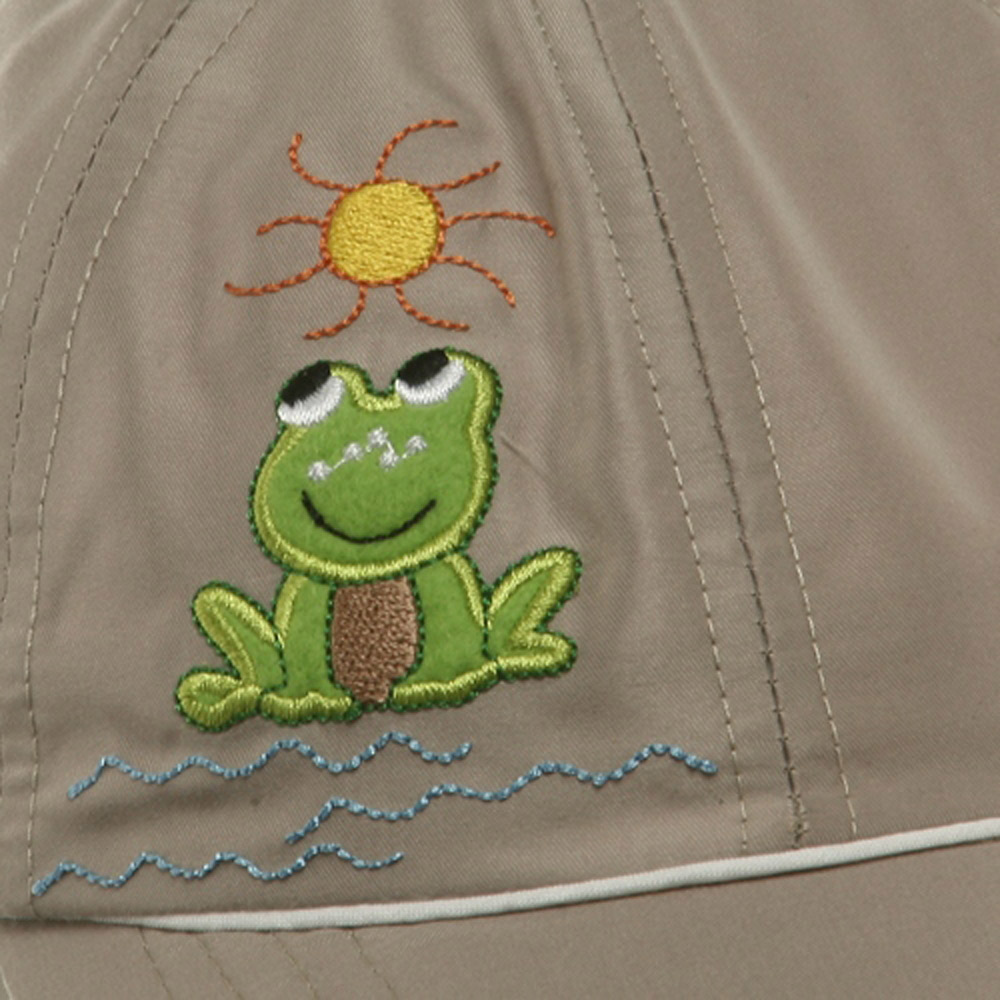 Children Micro Fiber Flap Cap - Khaki - Hats and Caps Online Shop - Hip Head Gear