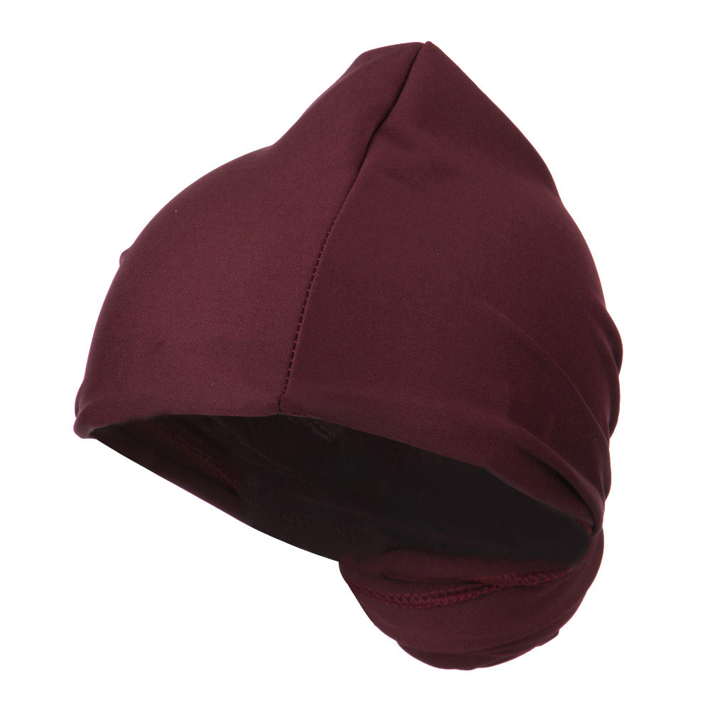 Magic Long Head Wrap - Burgundy - Hats and Caps Online Shop - Hip Head Gear