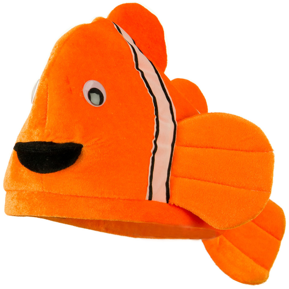 Assorted Marine Animal Hats - Orange Fish - Hats and Caps Online Shop - Hip Head Gear