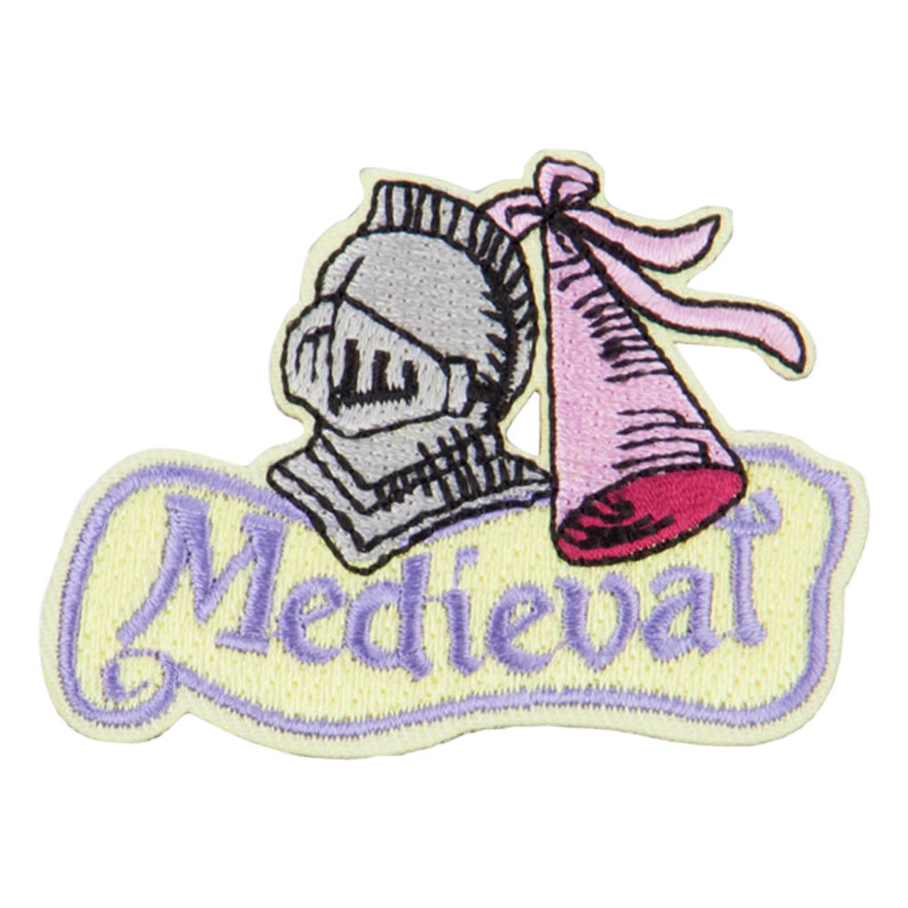Medieval Knight Patch - Yellow