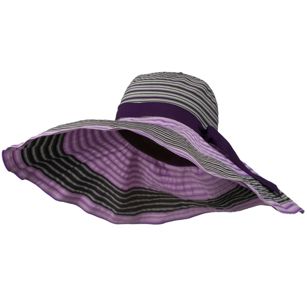Jeanne Simmons Women's Multi-Colored Hat with Wired Brim - Purple Mix W27S63E at Sears.com