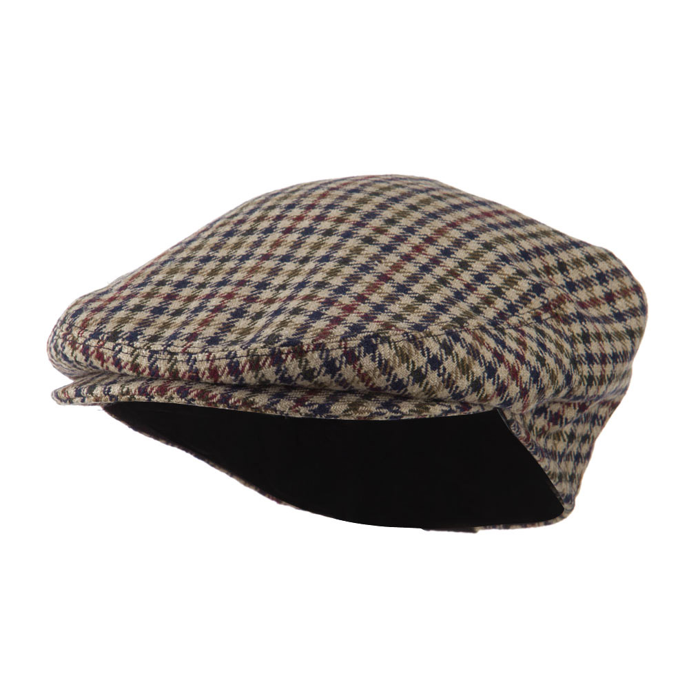 Men's Quilted Lined Ivy Cap - Grey - Hats and Caps Online Shop - Hip Head Gear