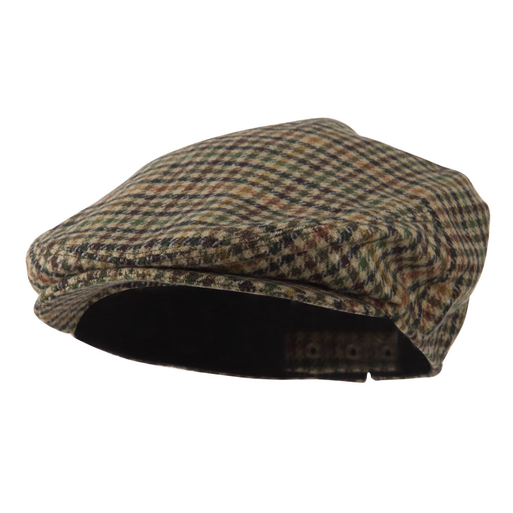 Men's Quilted Lined Ivy Cap - Moss - Hats and Caps Online Shop - Hip Head Gear