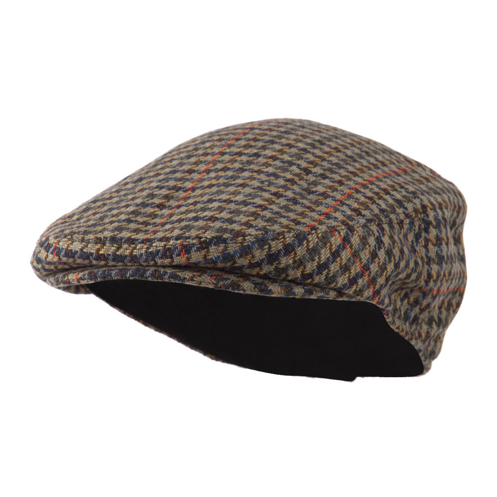 Men's Quilted Lined Ivy Cap - Wine - Hats and Caps Online Shop - Hip Head Gear