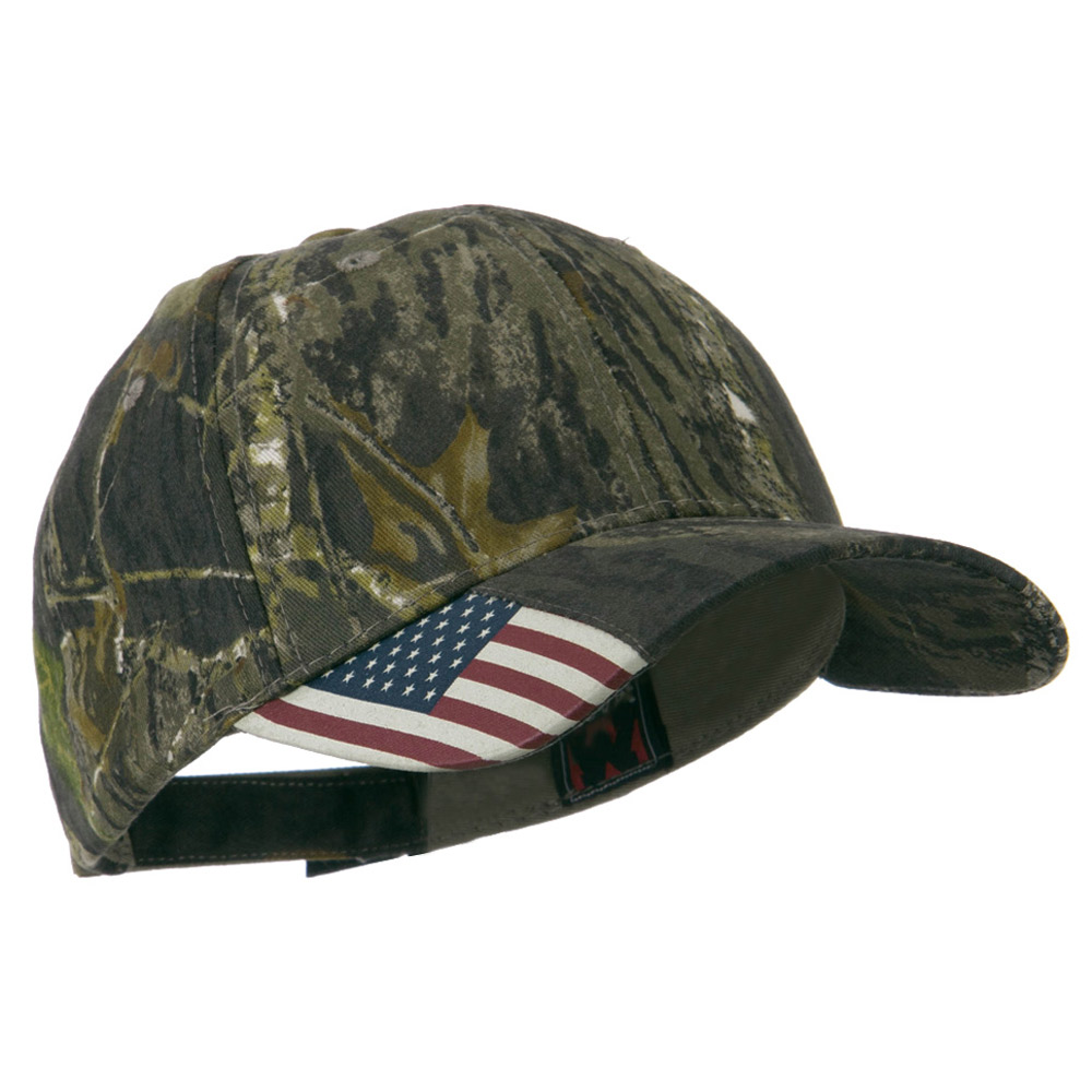 Mossy Oak USA Flag Cap - Mossy - Hats and Caps Online Shop - Hip Head Gear