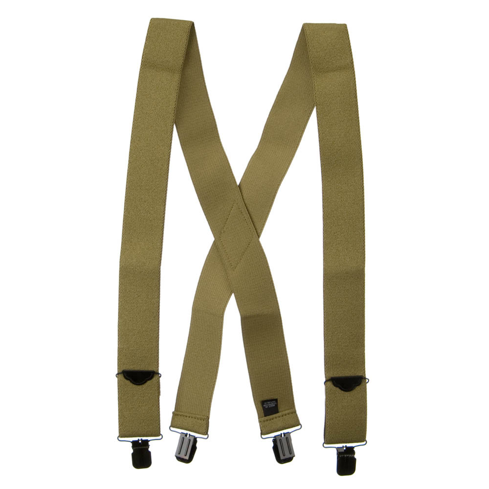 Main Stay Solid Suspender - Tan