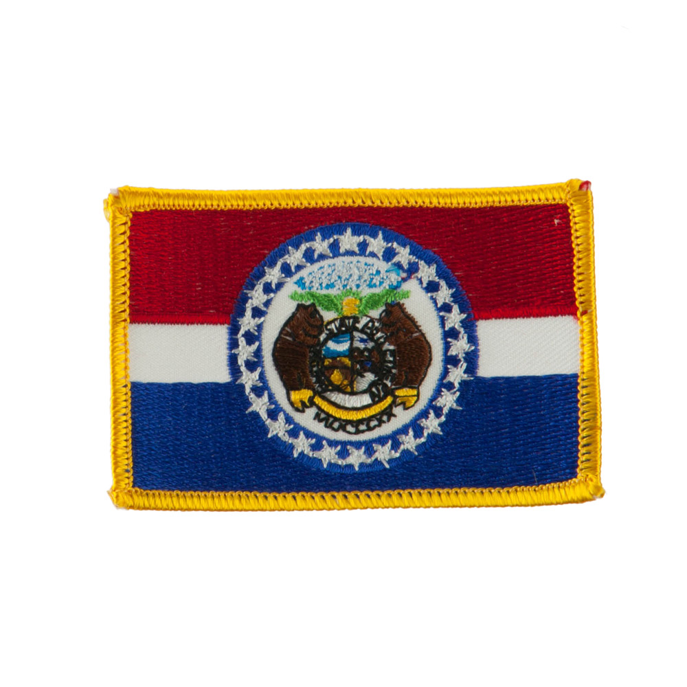 Middle State Embroidered Patches - Missouri