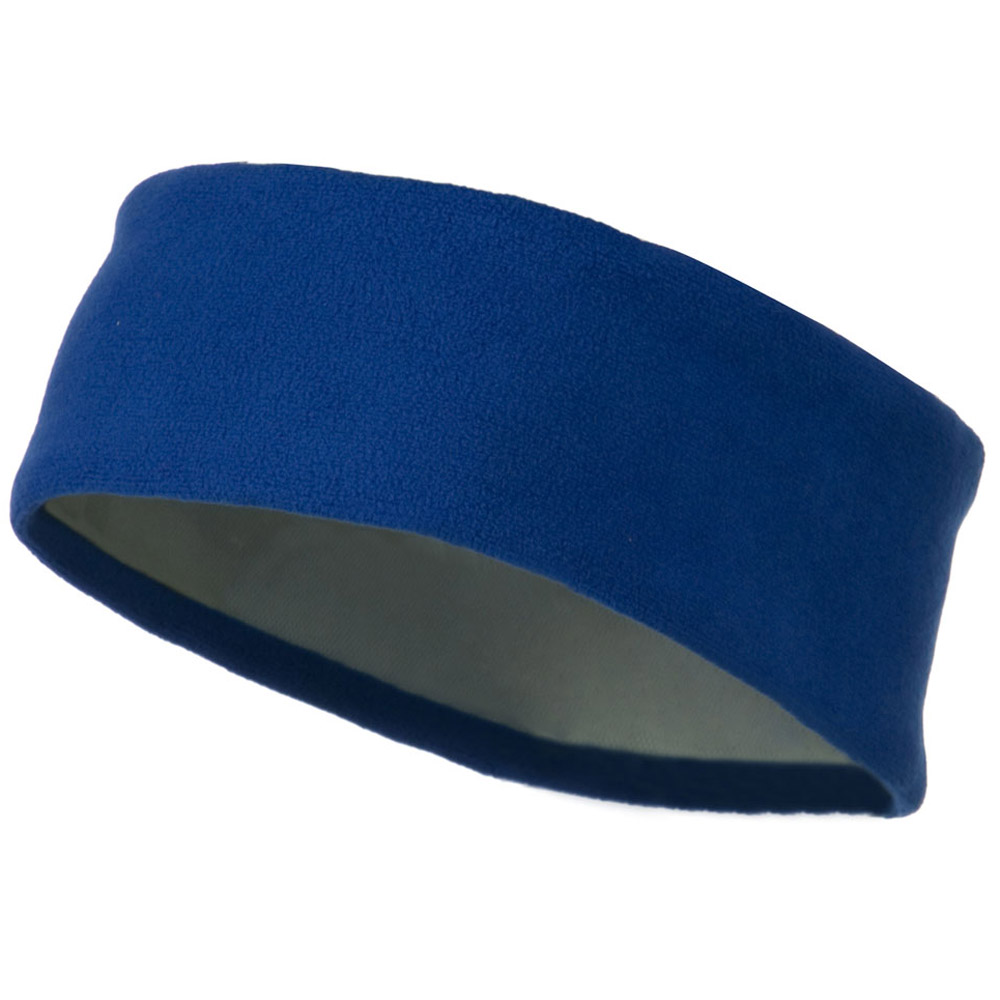Moisture Wicking Fleece Head Band - Royal - Hats and Caps Online Shop - Hip Head Gear