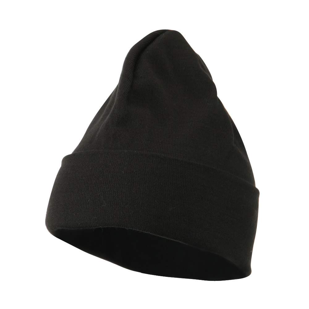 Cool Max Knitted Cuff Beanie - Black - Hats and Caps Online Shop - Hip Head Gear