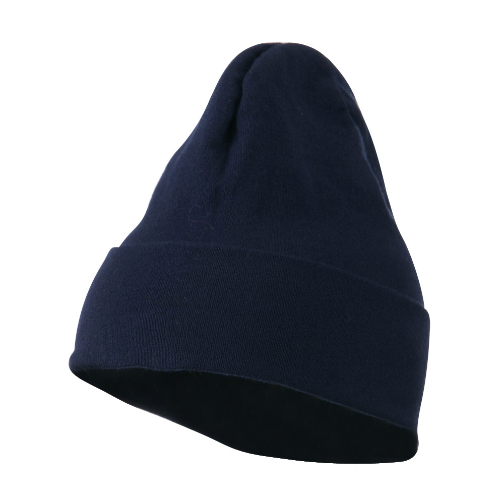 Cool Max Knitted Cuff Beanie - Navy - Hats and Caps Online Shop - Hip Head Gear