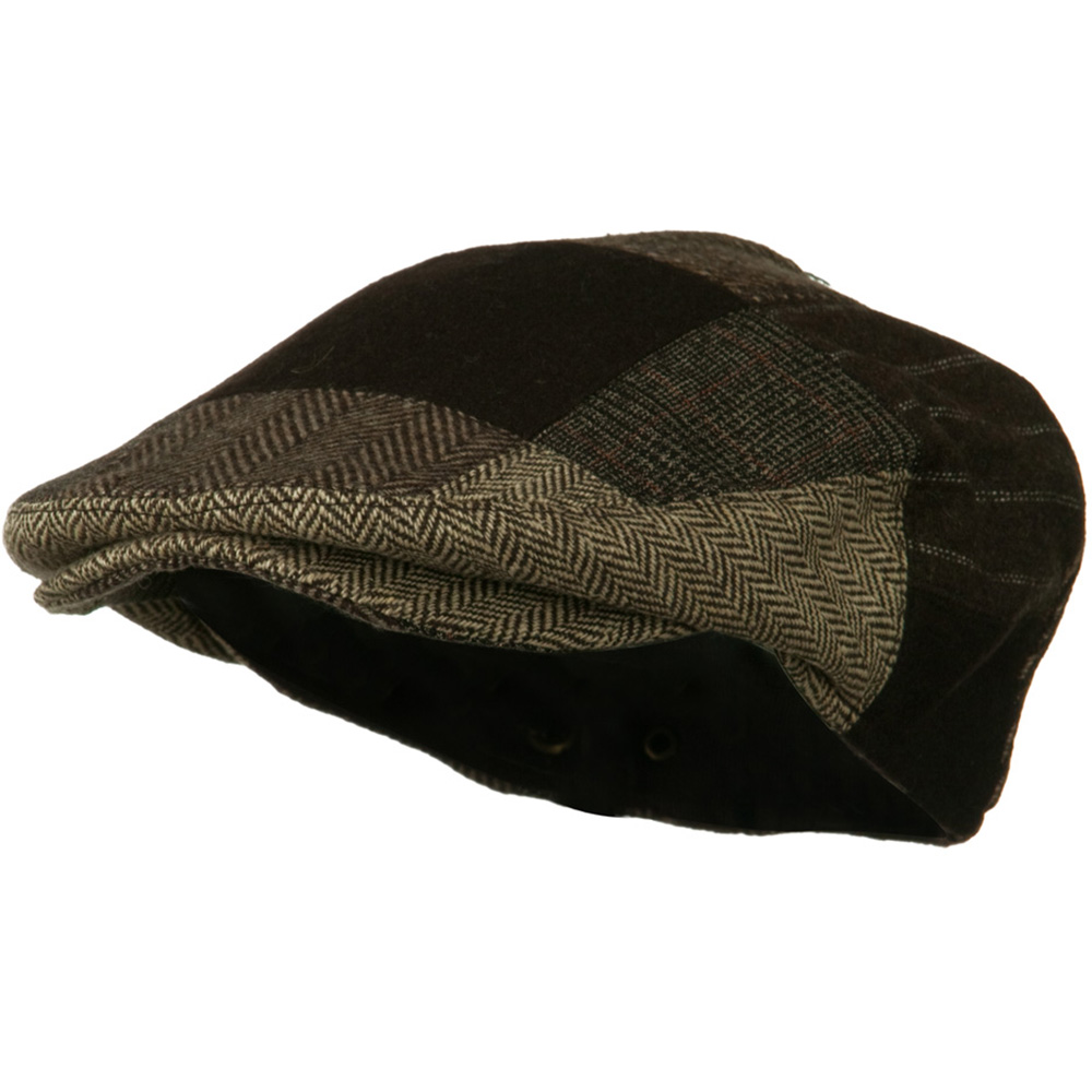 Men's Wool Ivy Cap - Brown - Hats and Caps Online Shop - Hip Head Gear