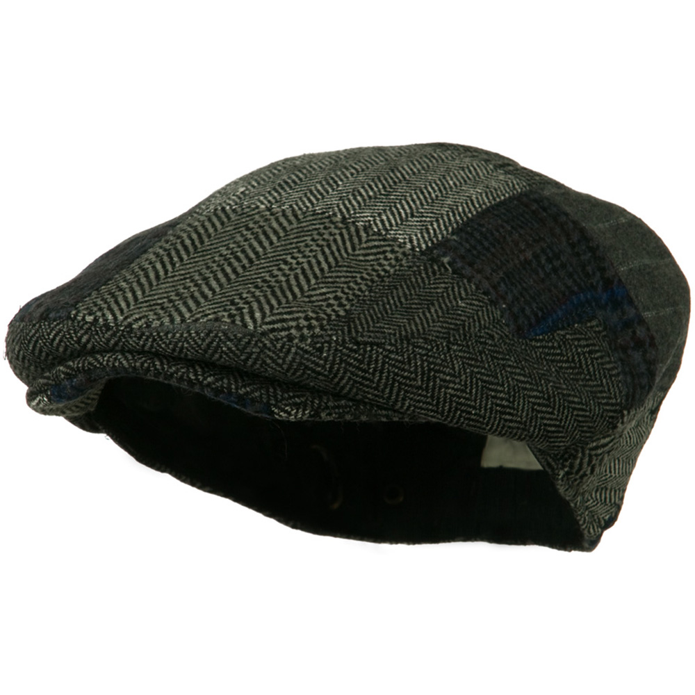 Men's Wool Ivy Cap - Grey - Hats and Caps Online Shop - Hip Head Gear