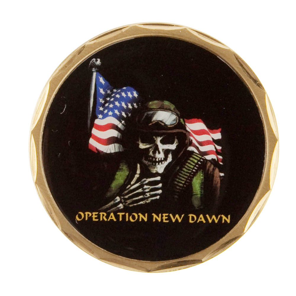 Operation Coin - Black Skull Soldier