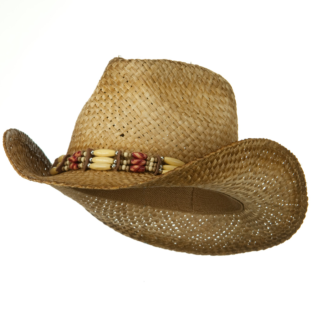 Outback Tea Stained Straw Hat-Shade Off Tea Stain - Hats and Caps Online Shop - Hip Head Gear