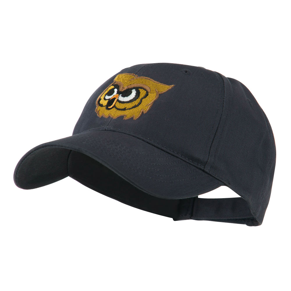 Brown Owl Mascot Embroidered Cap - Navy - Hats and Caps Online Shop - Hip Head Gear