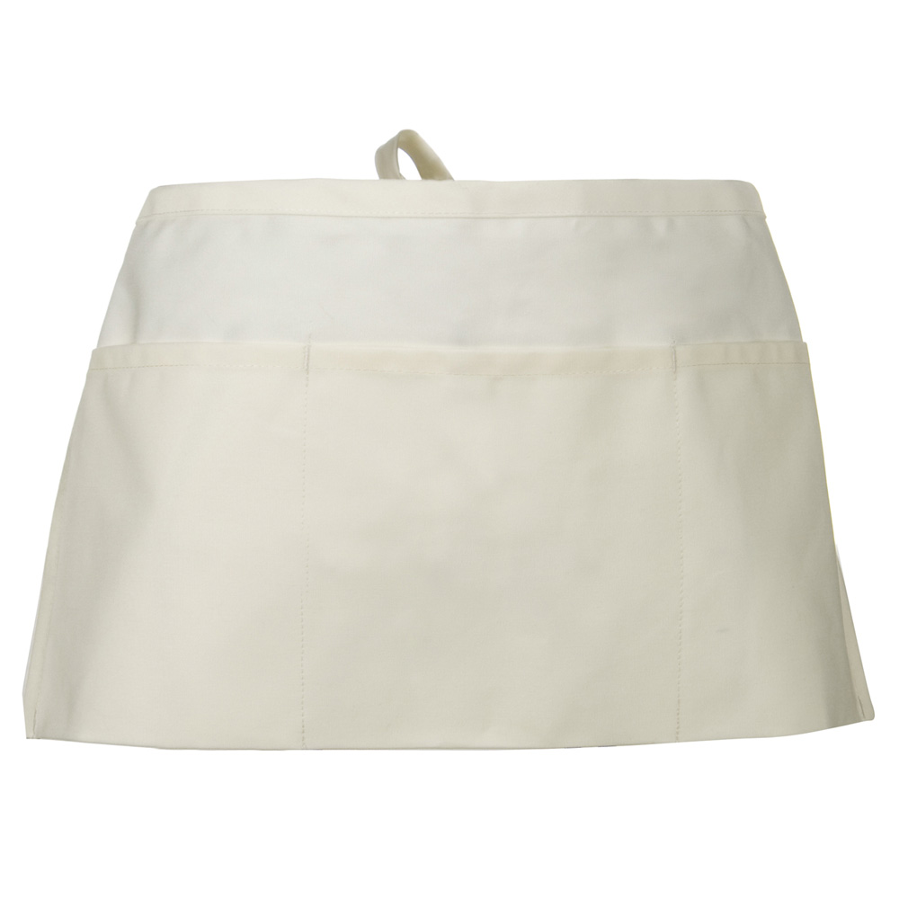 3 Pocket Waist Apron - Natural