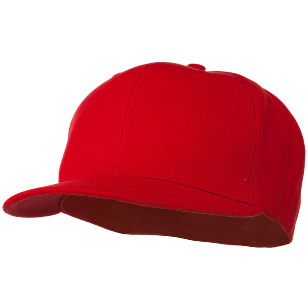 Prostyle Fitted Baseball Cap - Red