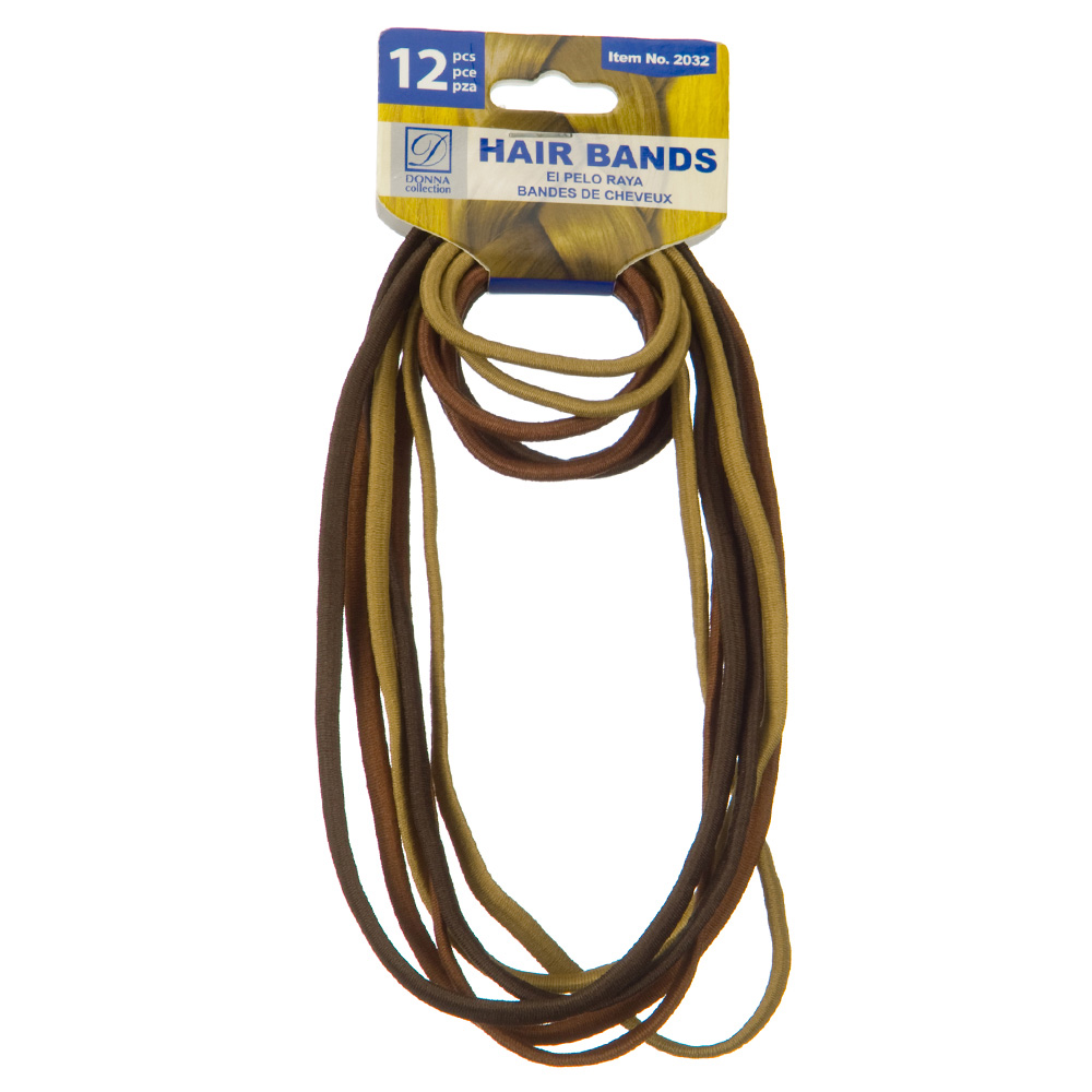 Pony Tail Holder Hair Band - Brown