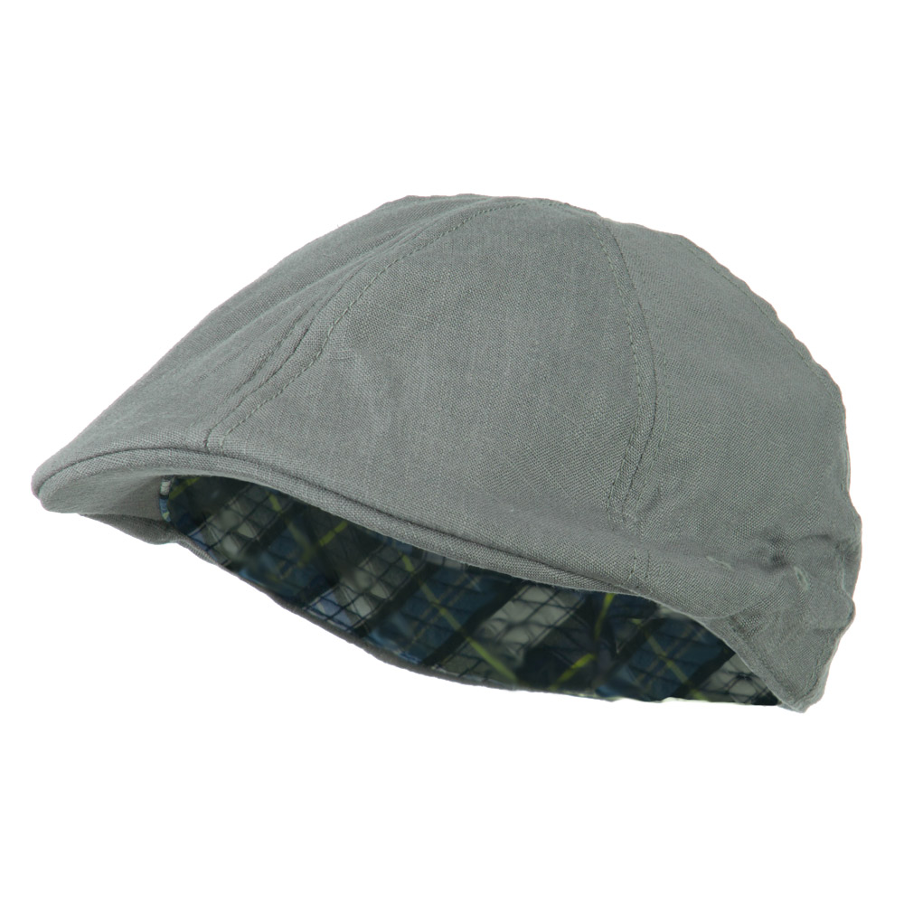 Plain Ivy Elastic Band Closure Cap - Grey - Hats and Caps Online Shop - Hip Head Gear