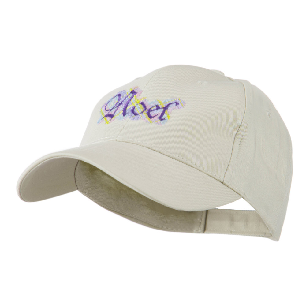 Christmas Plaid Noel Embroidered Cap - Stone - Hats and Caps Online Shop - Hip Head Gear