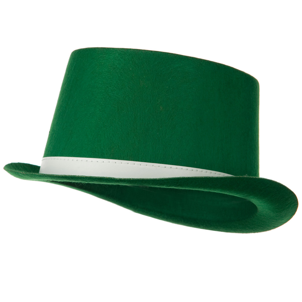 Permefelt St Patrick's Hat - Green Top - Hats and Caps Online Shop - Hip Head Gear